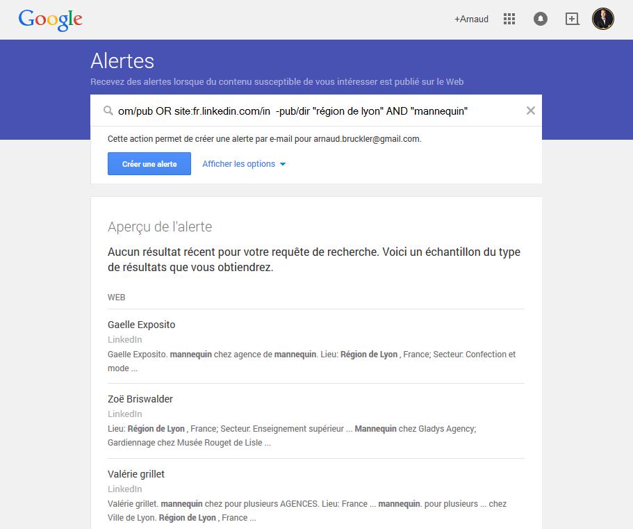 google-alerte